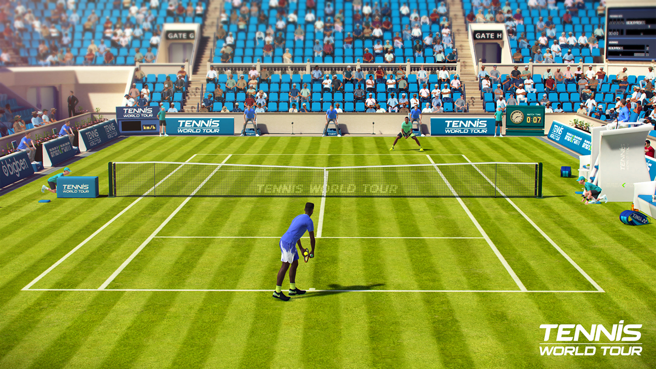 Tennis World Tour Legends Edition – Capture d'écran
