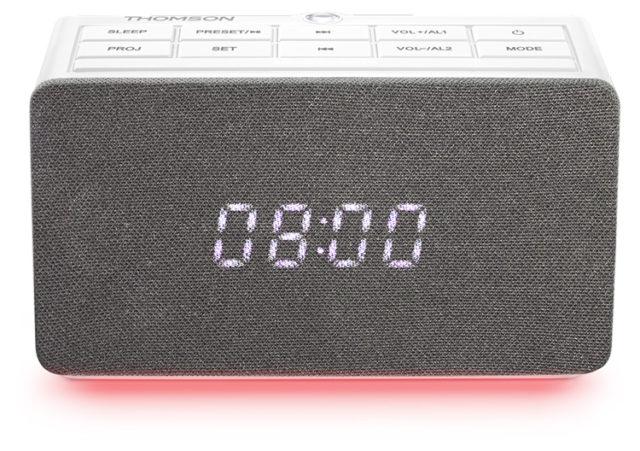 Radio réveil avec projecteur CL301P THOMSON – Visuel