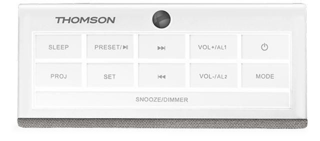Radio réveil avec projecteur CL301P THOMSON – Visuel#1
