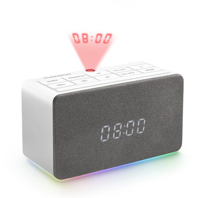 Radio réveil avec projecteur CL301P THOMSON – Visuel#2tutu