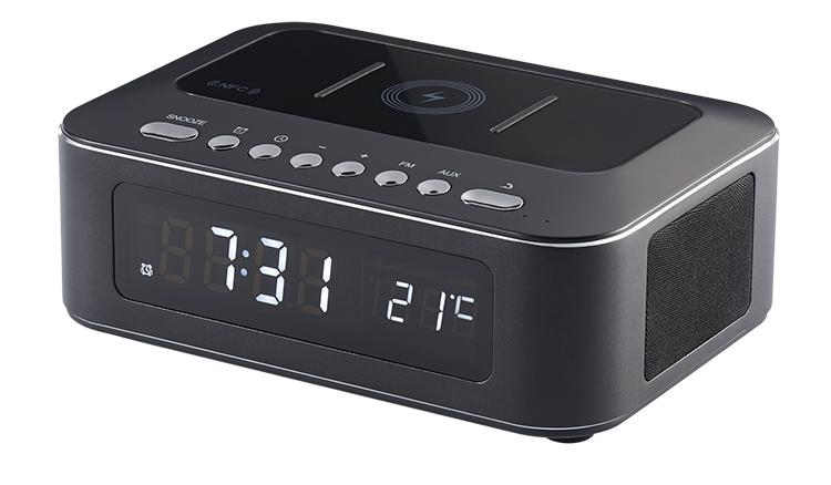 Radio réveil avec chargeur sans fil CR400IBT THOMSON - Visuel