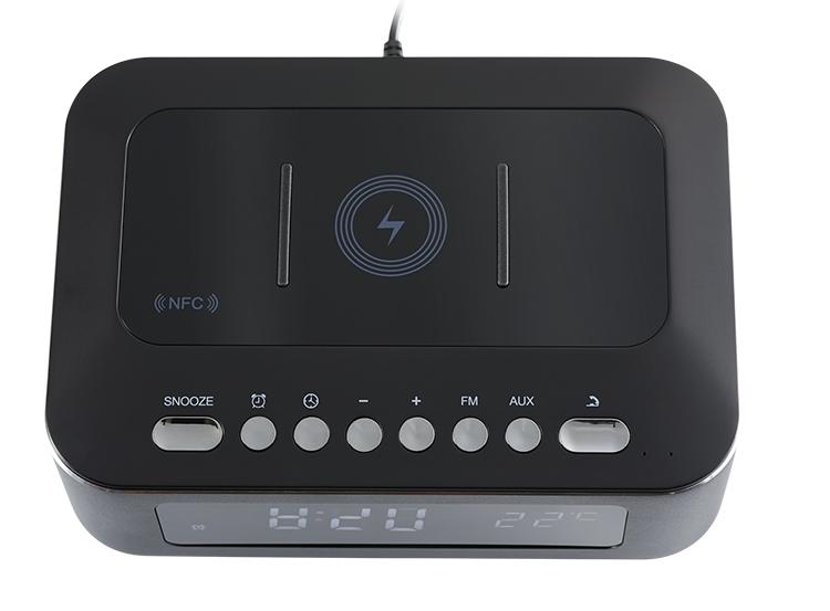 Radio réveil avec chargeur sans fil CR400IBT THOMSON - Visuel#2tutu#3