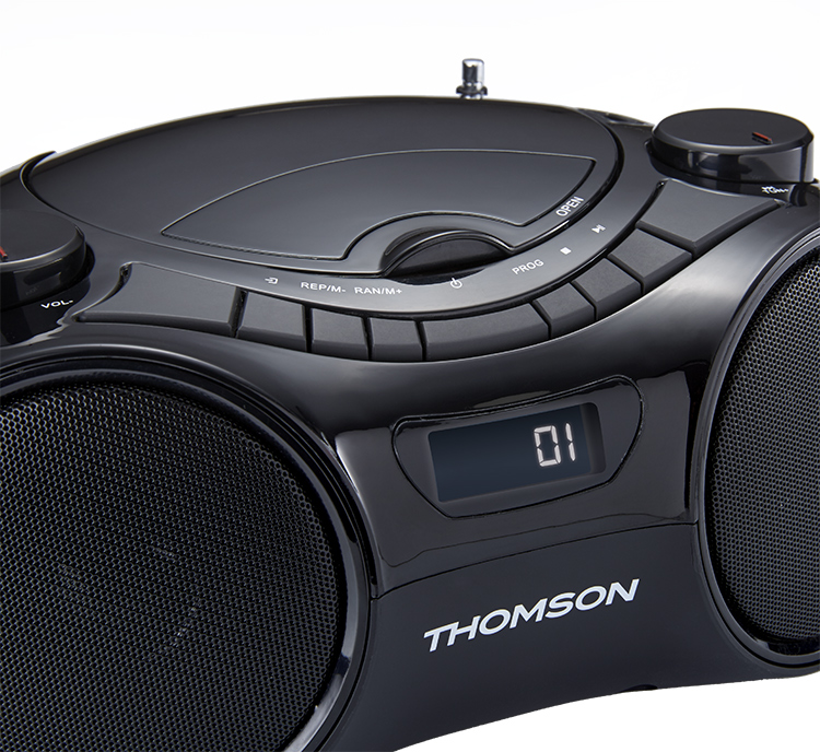 Lecteur portable CD/MP3/USB/RADIO RCD210UBT THOMSON - Visuel#2tutu