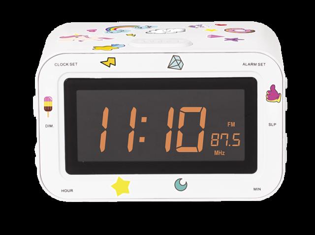Radio réveil double alarme RR30BCUNICORNSTICK BIGBEN KIDS – Visuel#1