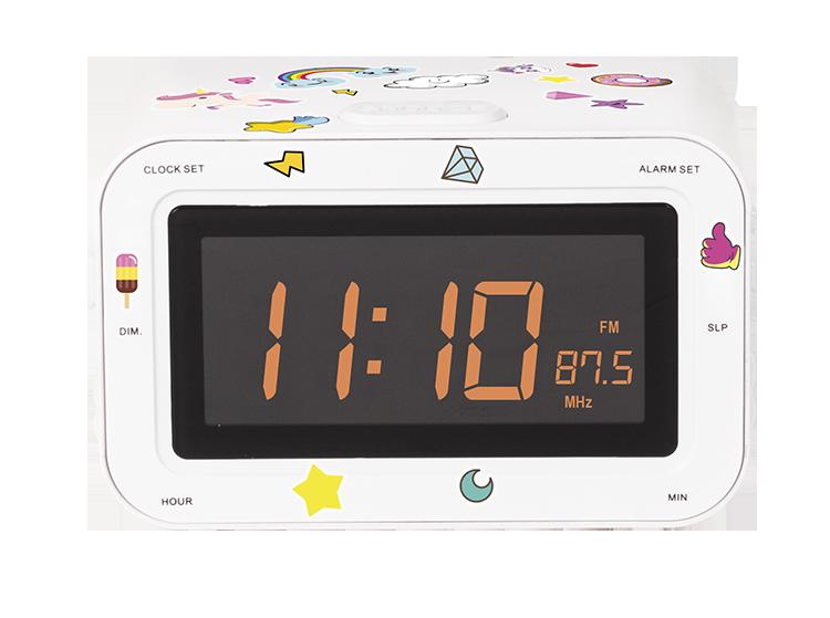 Radio réveil double alarme RR30BCUNICORNSTICK BIGBEN KIDS - Visuel#1
