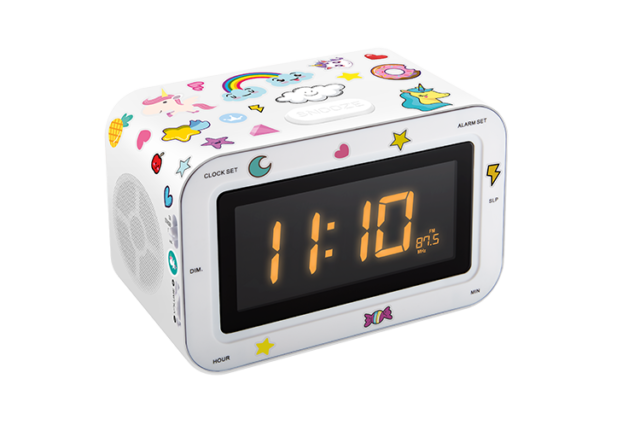 Radio réveil double alarme RR30BCUNICORNSTICK BIGBEN KIDS – Visuel#2tutu