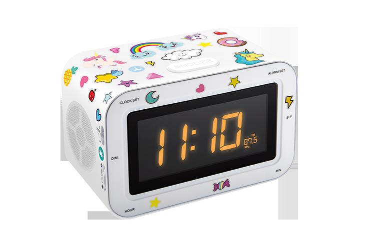 Radio réveil double alarme RR30BCUNICORNSTICK BIGBEN KIDS - Visuel#2tutu