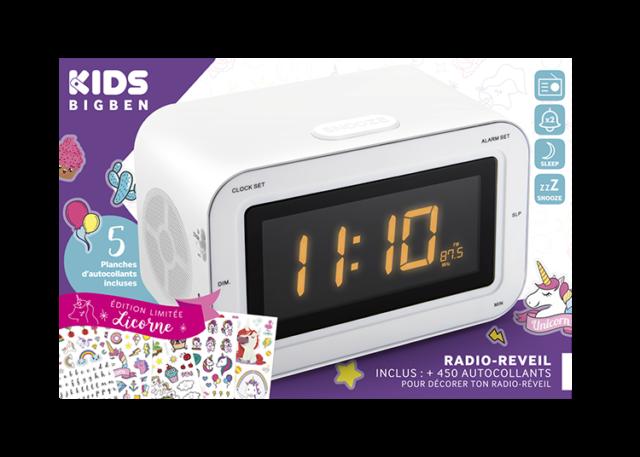 Radio réveil double alarme RR30BCUNICORNSTICK BIGBEN KIDS – Visuel#2tutu#3