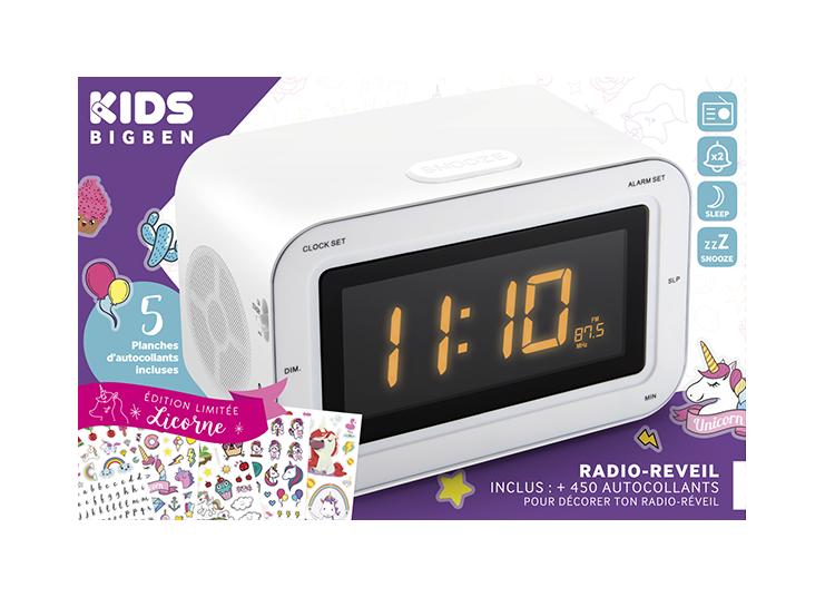 Radio réveil double alarme RR30BCUNICORNSTICK BIGBEN KIDS - Visuel#2tutu#3