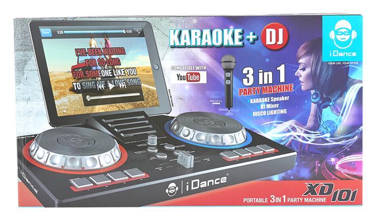 Karaoké portable 3 en 1 - Visuel#2tutu#3