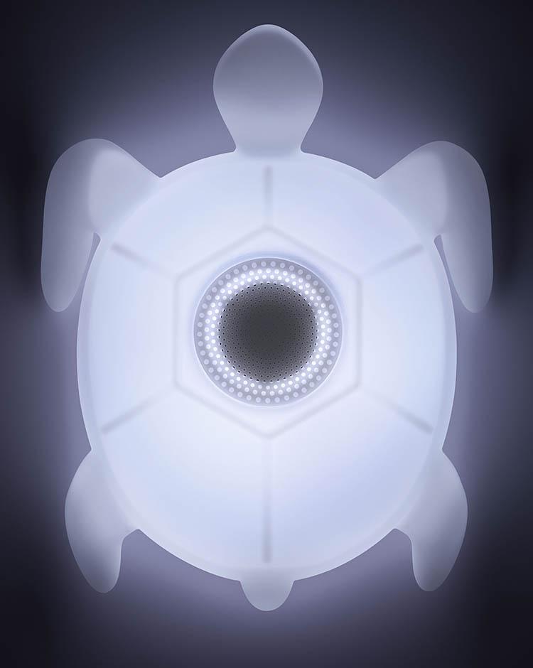 Enceinte sans fil lumineuse resistante à l'eau BTLSTURTLE BIGBEN - Visuel