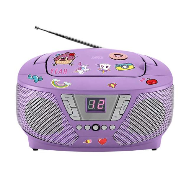 Lecteur radio/CD portable CD60UNICORNSTICK BIGBEN - Packshot