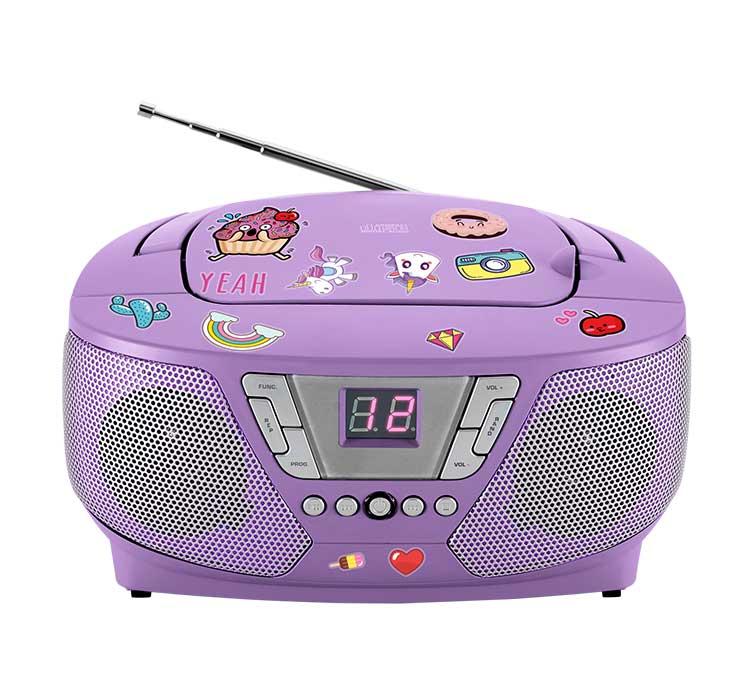 Lecteur radio/CD portable CD60UNICORNSTICK BIGBEN - Packshot