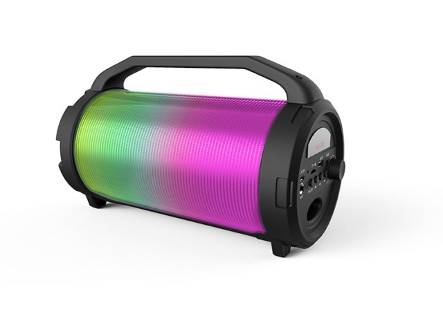 Enceinte bluetooth lumineuse CYCLONE400BK I DANCE – Packshot