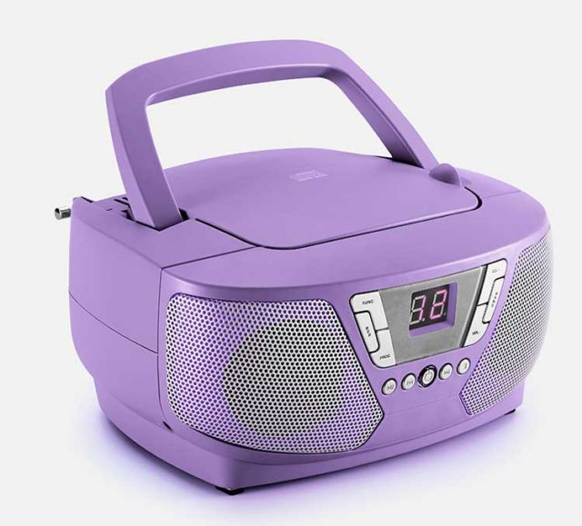 Lecteur radio/CD portable CD60UNICORNSTICK BIGBEN – Visuel