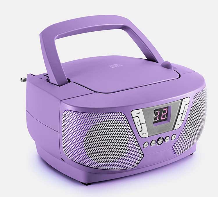 Lecteur radio/CD portable CD60UNICORNSTICK BIGBEN - Visuel