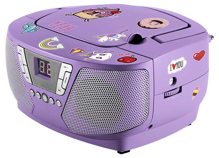 Lecteur radio/CD portable CD60UNICORNSTICK BIGBEN - Visuel#1