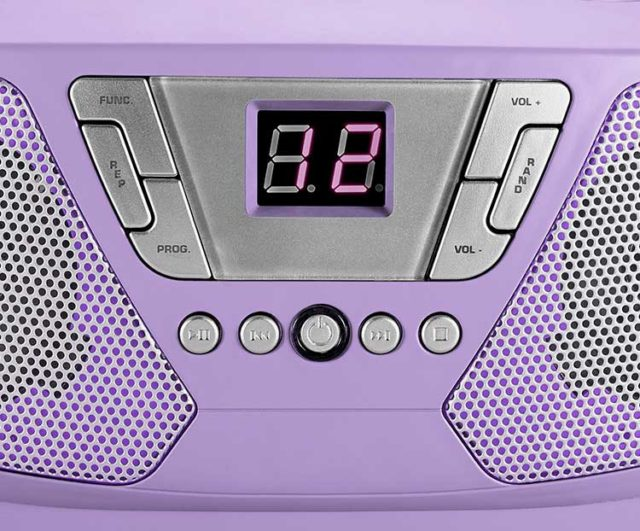 Lecteur radio/CD portable CD60UNICORNSTICK BIGBEN – Visuel#2tutu#3