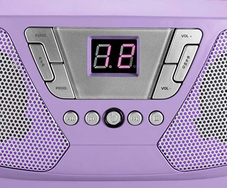 Lecteur radio/CD portable CD60UNICORNSTICK BIGBEN - Visuel#2tutu#3