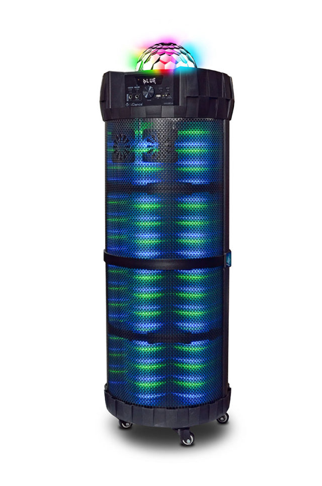 Système bluetooth extérieur CYCLONE6000 I DANCE – Packshot