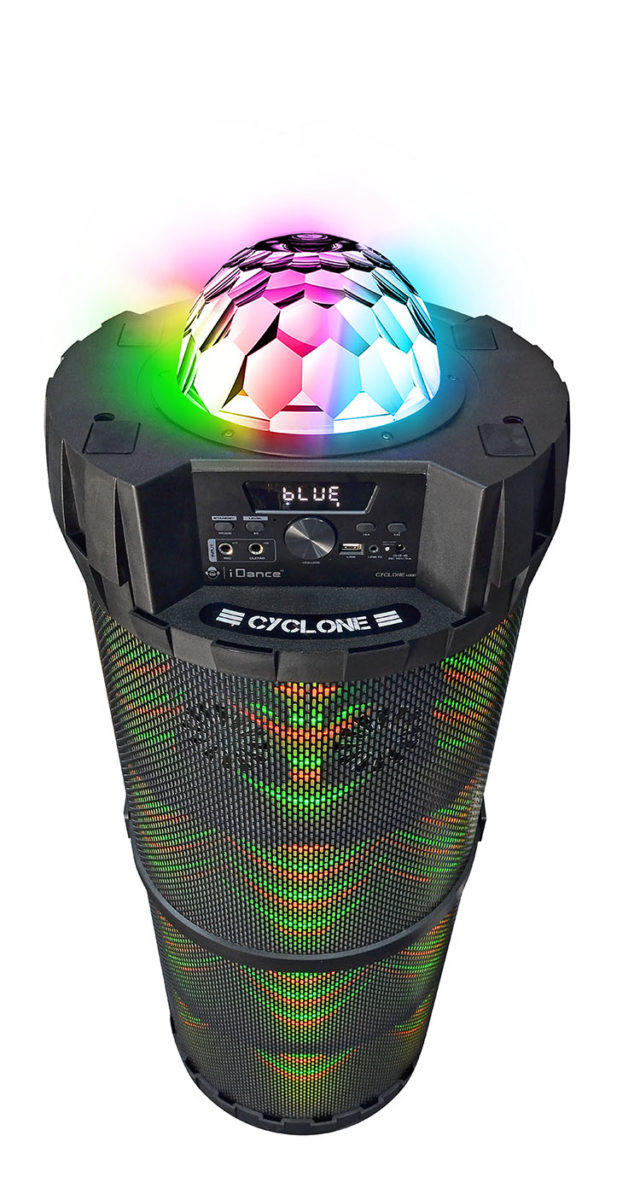 Système bluetooth extérieur CYCLONE6000 I DANCE – Visuel