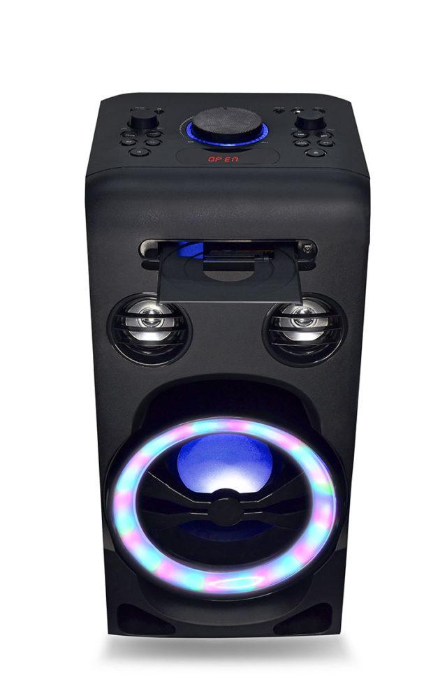 Système bluetooth tout en un + lecteur CD XD3CD I DANCE – Visuel