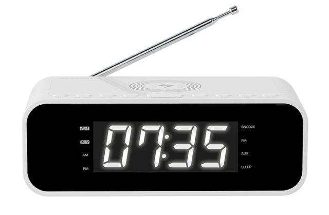 Radio réveil avec chargeur sans fil CR221I THOMSON - Packshot