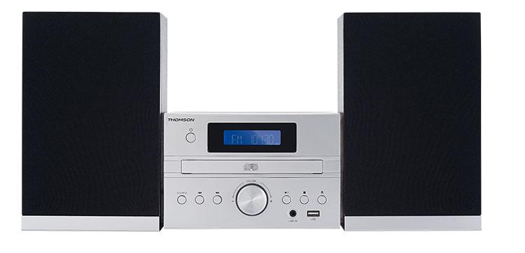 Micro chaine CD/MP3/USB/DAB+ MIC122DABBT THOMSON - Packshot
