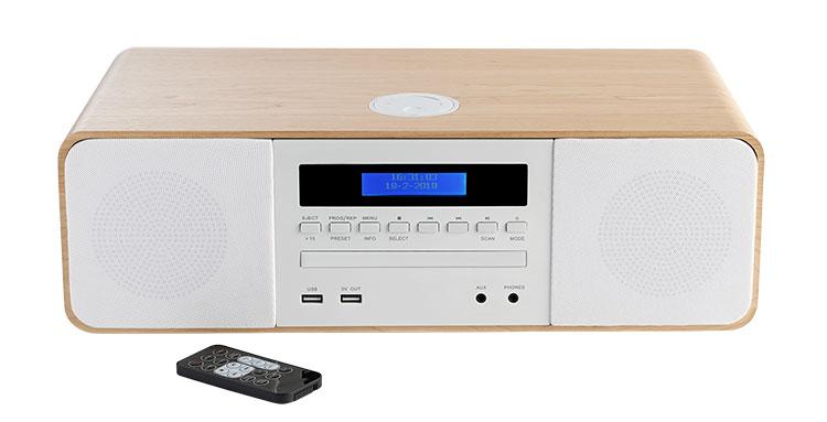 Micro chaine CD/MP3/USB MIC201BT THOMSON - Packshot