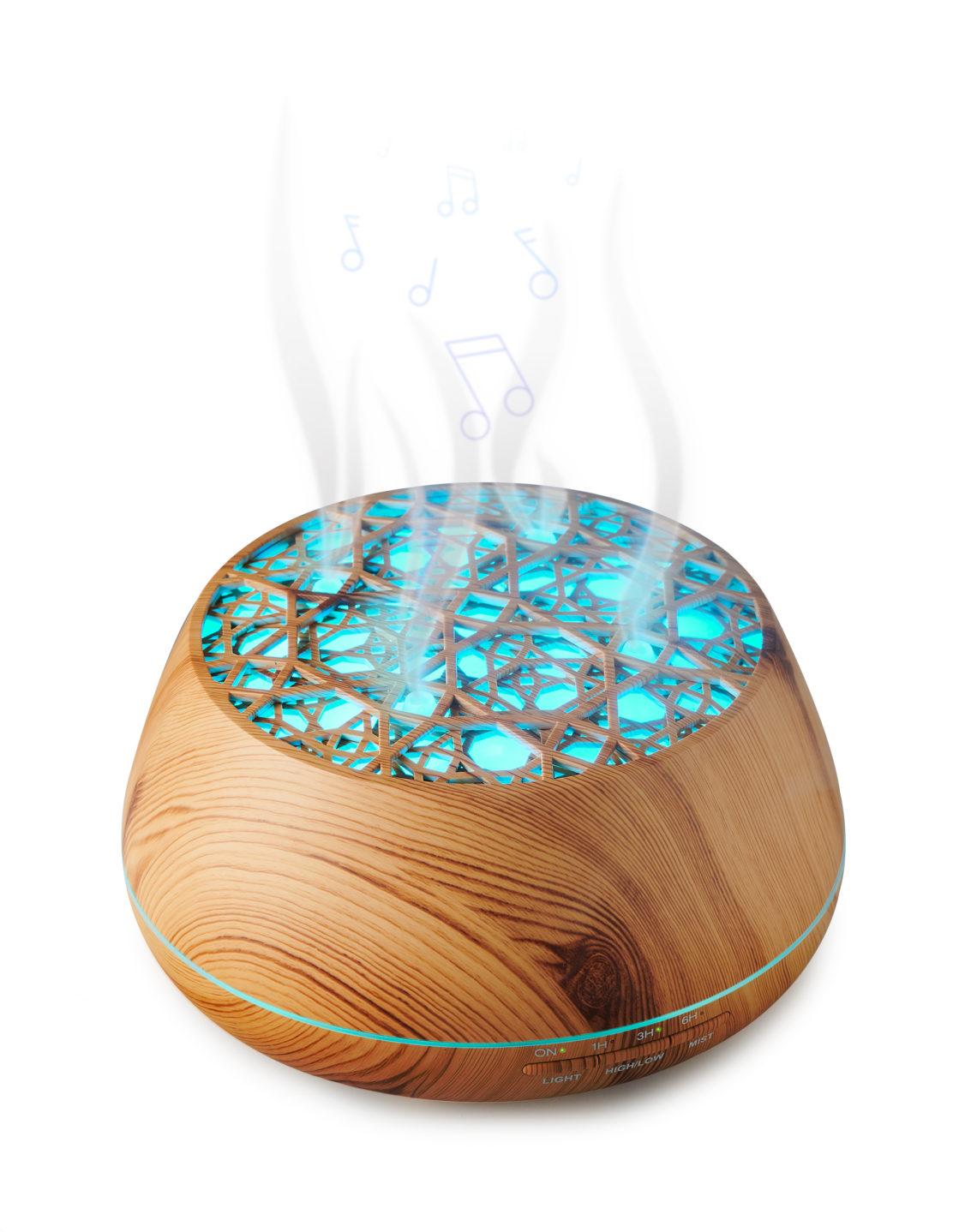 Enceinte lumineuse/diffuseur d'huiles essentielles BTA01 BIGBEN - Visuel#2tutu#4tutu#6tutu#7