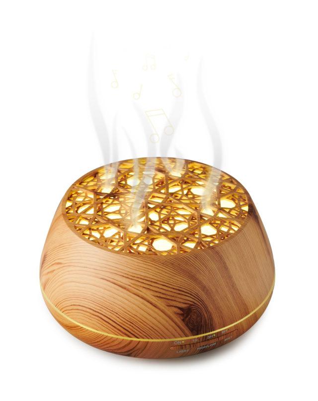 Enceinte lumineuse/diffuseur d'huiles essentielles BTA01 BIGBEN – Visuel#2tutu#4tutu#6tutu#8tutu