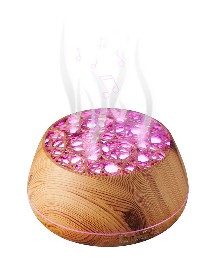 Enceinte lumineuse/diffuseur d'huiles essentielles BTA01 BIGBEN - Visuel#2tutu#4tutu#6tutu#8tutu#9