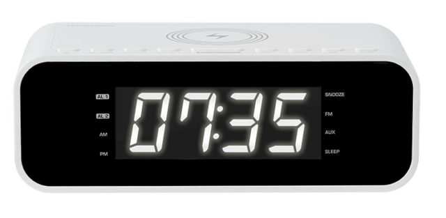Radio réveil avec chargeur sans fil CR221I THOMSON – Visuel