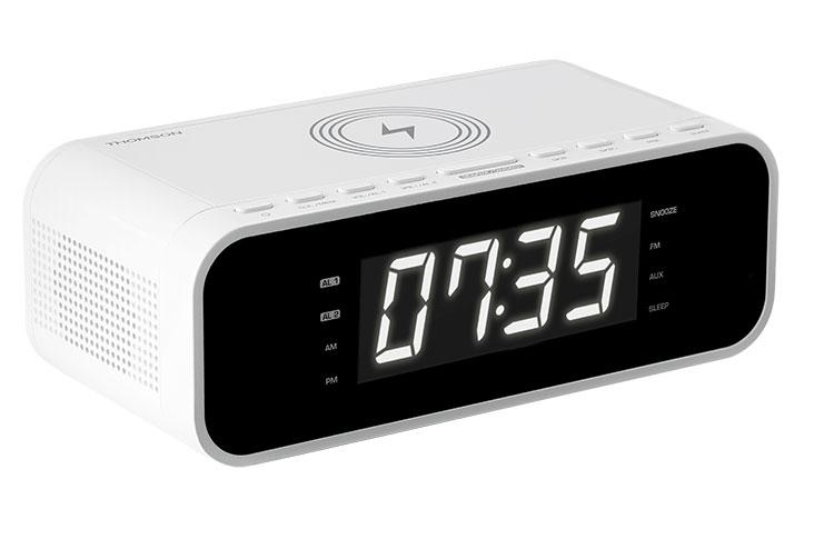 Radio réveil avec chargeur sans fil CR221I THOMSON - Visuel#1