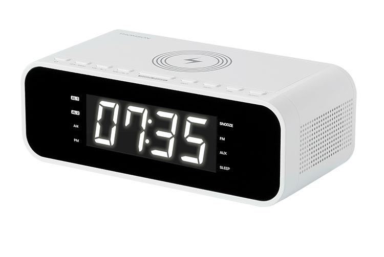 Radio réveil avec chargeur sans fil CR221I THOMSON - Visuel#2tutu#3