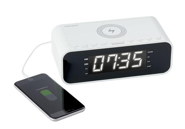 Radio réveil avec chargeur sans fil CR221I THOMSON – Visuel#2tutu#4tutu