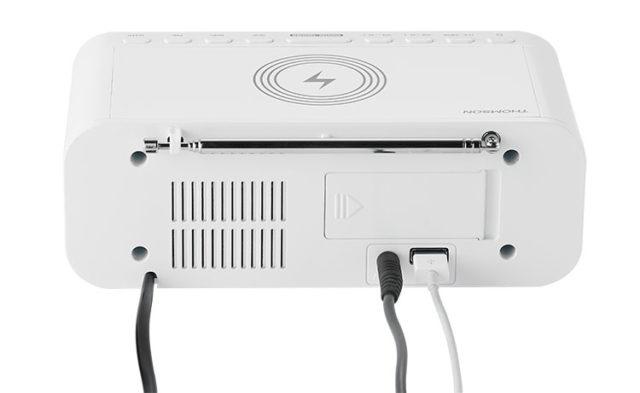 Radio réveil avec chargeur sans fil CR221I THOMSON – Visuel#2tutu#4tutu#5