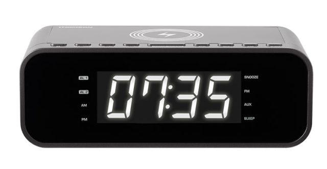 Radio réveil avec chargeur sans fil CR225I THOMSON – Visuel