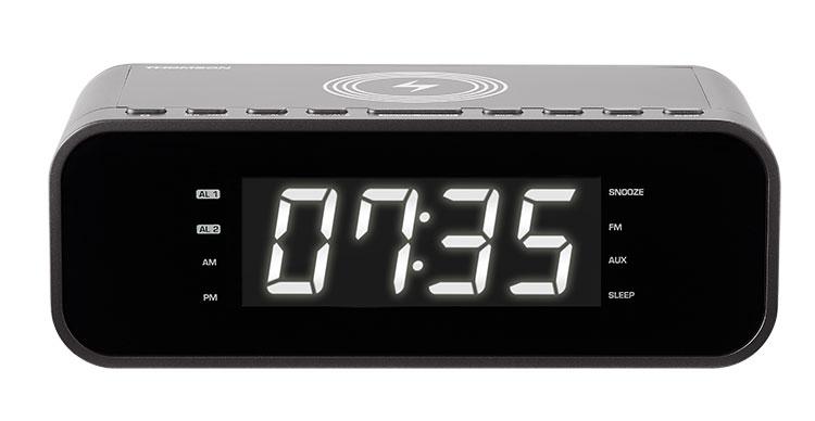 Radio réveil avec chargeur sans fil CR225I THOMSON - Visuel