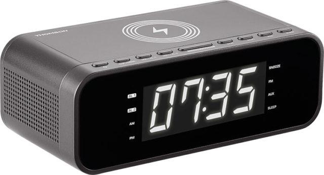 Radio réveil avec chargeur sans fil CR225I THOMSON – Visuel#1