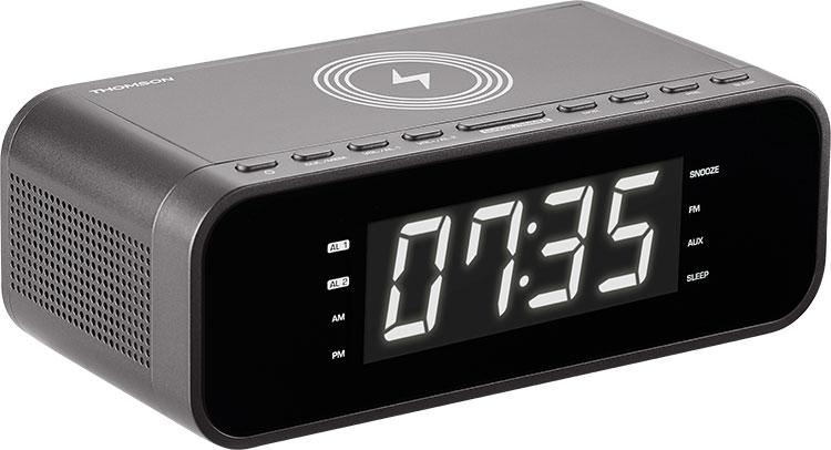 Radio réveil avec chargeur sans fil CR225I THOMSON - Visuel#1