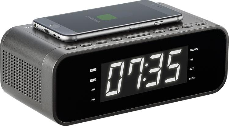 Radio réveil avec chargeur sans fil CR225I THOMSON - Visuel#2tutu