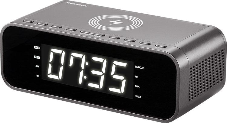 Radio réveil avec chargeur sans fil CR225I THOMSON - Visuel#2tutu#3