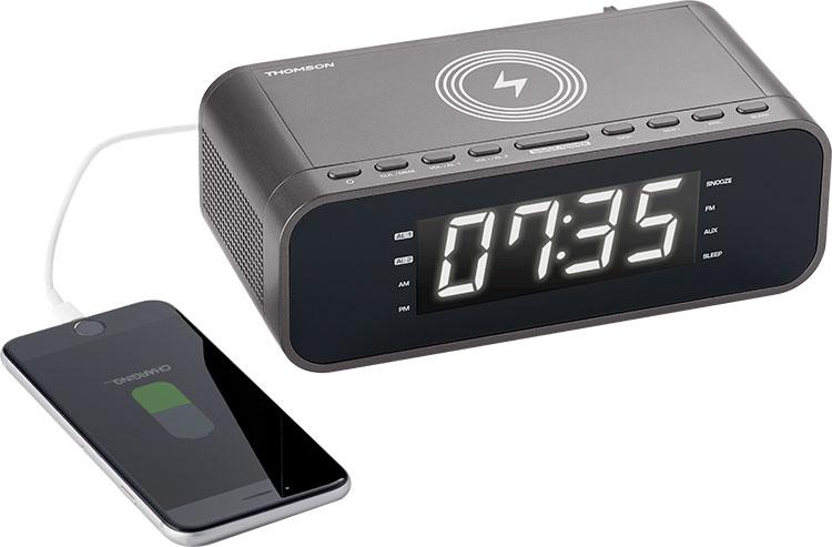 Radio réveil avec chargeur sans fil CR225I THOMSON - Visuel#2tutu#4tutu