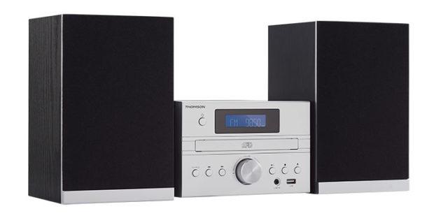 Micro chaine CD/MP3/USB/DAB+ MIC122DABBT THOMSON – Visuel