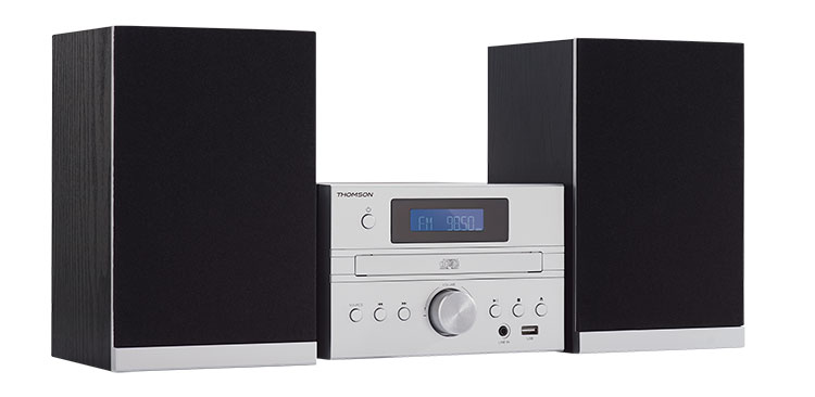 Micro chaine CD/MP3/USB/DAB+ MIC122DABBT THOMSON - Visuel