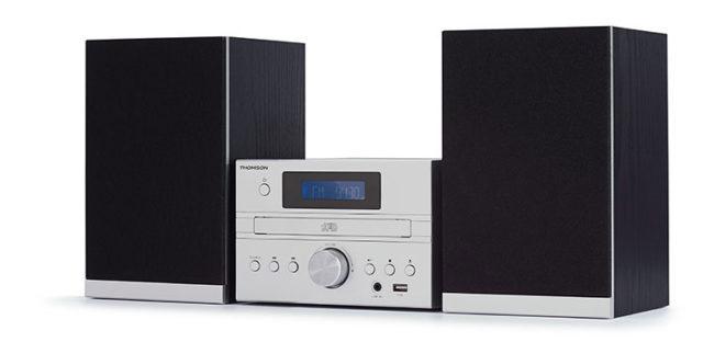 Micro chaine CD/MP3/USB/DAB+ MIC122DABBT THOMSON – Visuel#1