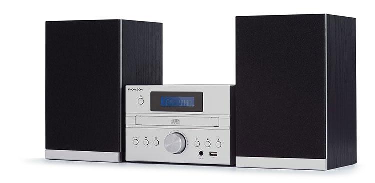 Micro chaine CD/MP3/USB/DAB+ MIC122DABBT THOMSON - Visuel#1