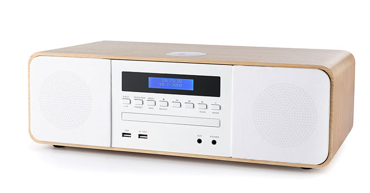 Micro chaine CD/MP3/USB MIC201BT THOMSON - Visuel