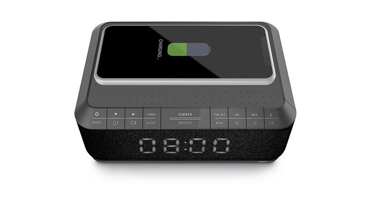 Radio réveil avec chargeur sans fils RR140IG BIGBEN - Visuel#1